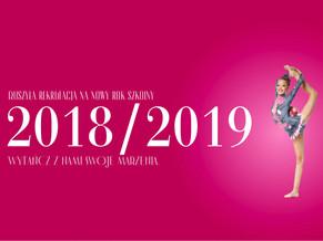 Ruszamy już 3 września! Dołącz do nas i zapisz się na nowy rok szkolny 2018/2019