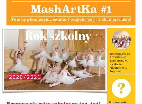 Poznajcie pierwszy numer naszej szkolnej gazetki - MashArtKa - to ona!