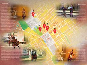 Taneczna Mapa Żyrardowa