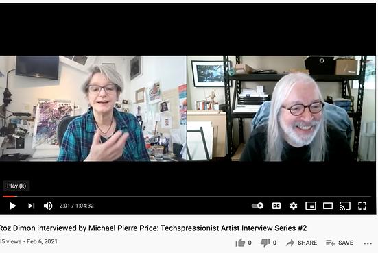 Michael Pierre Price interviews Roz Dimo