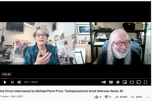 Michael Pierre Price interviews Roz Dimo