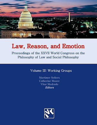 Law, Reason and Emotion - Vol. 3