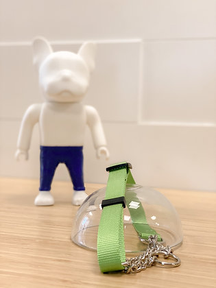 Martingale Collar - Lime green