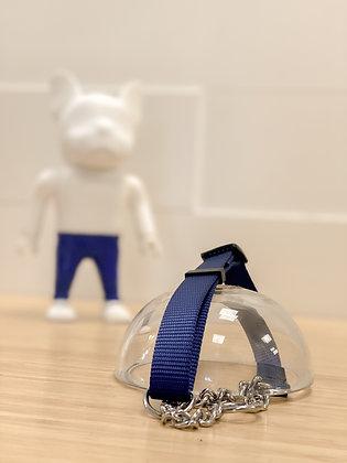 Martingale Collar - Navy blue
