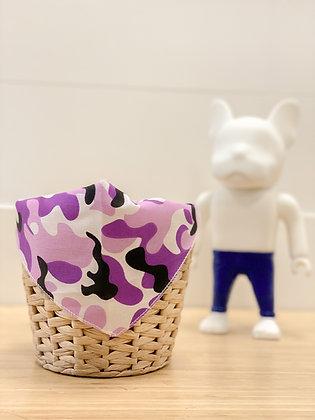 Bandana - Camouflage purple