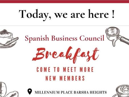 We are social: SBC Member Breakfast
