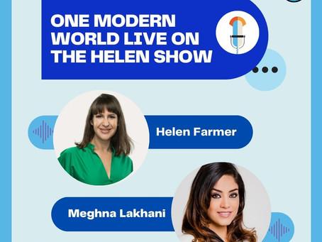Join our Founder Meghna Lakhani on Dubai Eye with Helen Farmer