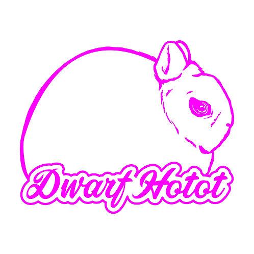 Dreamy - Dwarf Hotot Decal