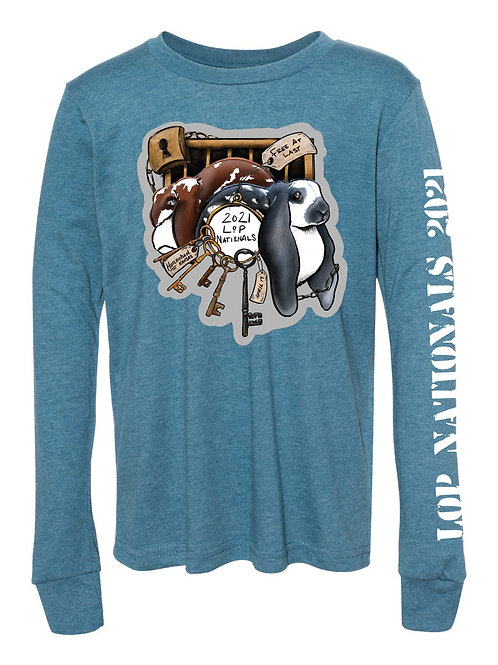 Lop Nationals 2021 Youth Long Sleeve Tee