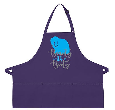Beauty with a Booty - Holland Lop Apron