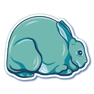 Mini Rex - Inflatable Sticker
