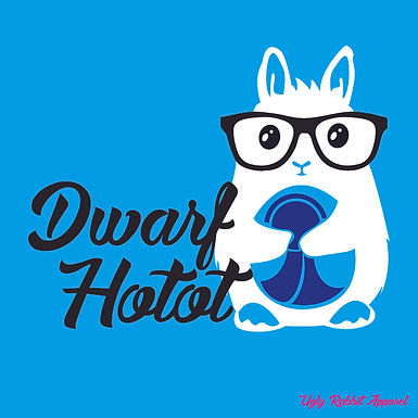 Dwarf Hotot - Big Eyes