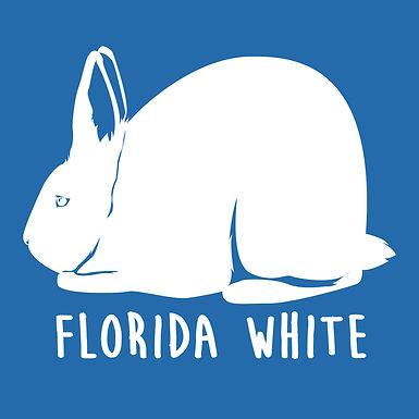 Florida White Tee