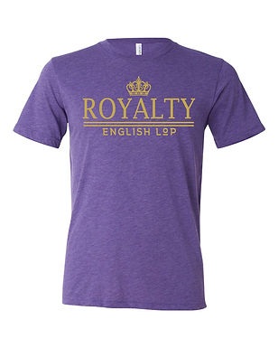 Royalty - English Lop Adult Tee