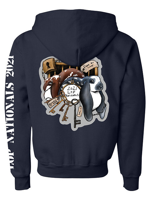 Lop Nationals 2021 Youth Zip-Up Hoodie