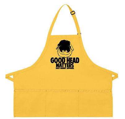 Good Head Matters - American Fuzzy Lop Adult Apron