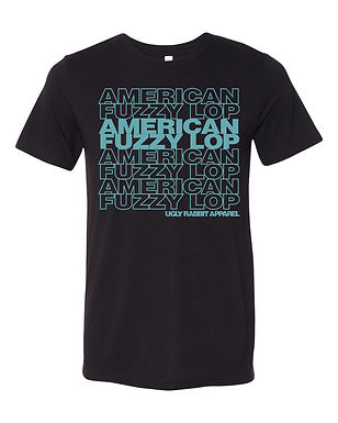 Repeat - American Fuzzy Lop Adult Tee