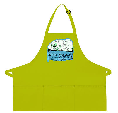 Abyssinian Cavy - Message Apron