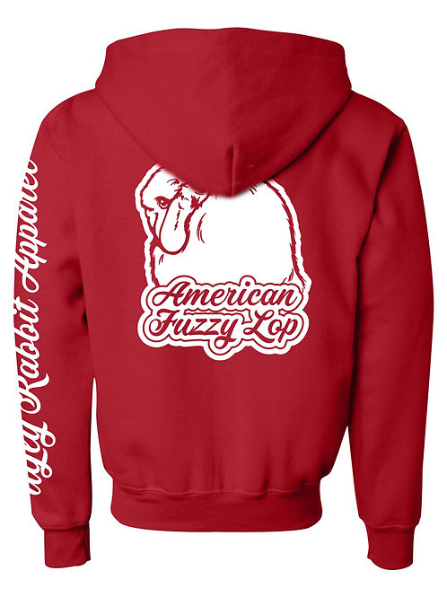 Dreamy - American Fuzzy Lop Youth Zip-Up Hoodie