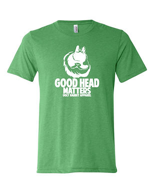 Good Head Matters - Jersey Wooly Adult Tee