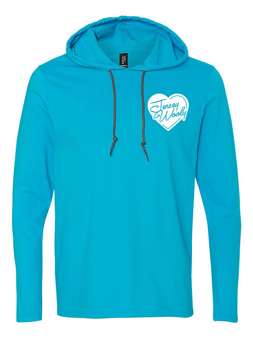 Lovestruck - Jersey Wooly Adult Hooded Long Sleeve Tee