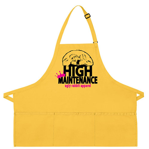 High Maintenance - English Angora Apron