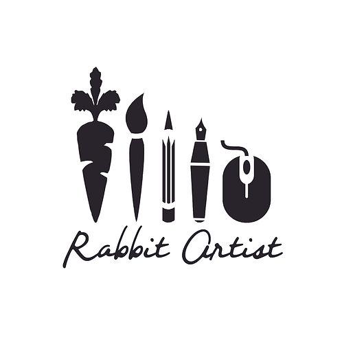 Rabbit Artist Tee