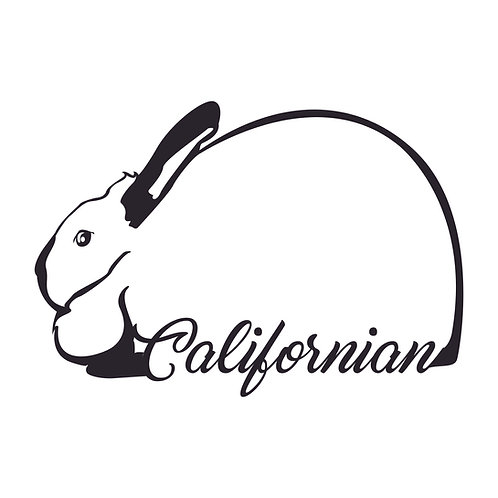 Californian - Outline Decal