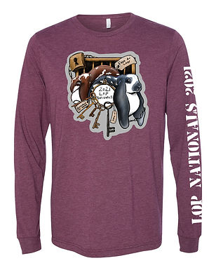 Lop Nationals 2021 Adult Long Sleeve Tee