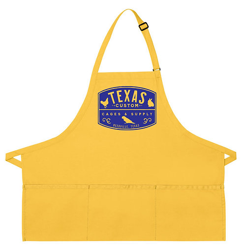 Texas Custom Cages Apron