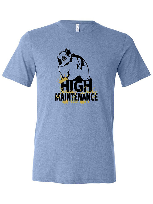 High Maintenance - Jersey Wooly Adult Tee