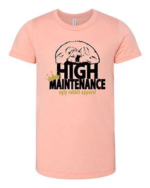 High Maintenance - English Angora Youth Tee
