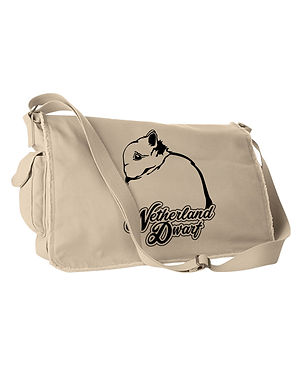 Netherland Dwarf - Dreamy Messenger Bag