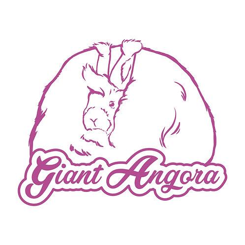 Dreamy - Giant Angora Decal