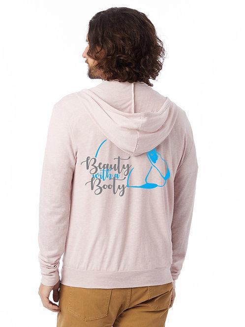 Californian - Beauty with a Booty Lightweight Zip Hoodie