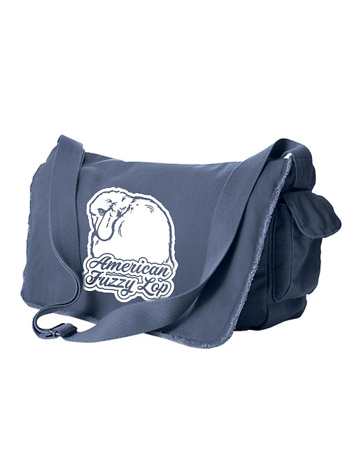 Dreamy - American Fuzzy Lop Messenger Bag