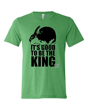 Rex - It's Good To Be The King Adult Tee
