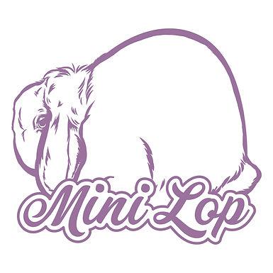 Dreamy - Mini Lop Decal