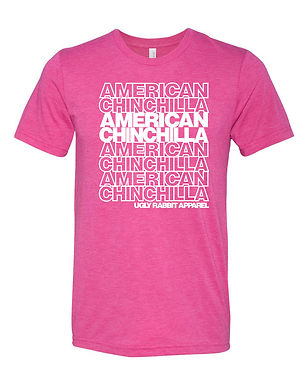 Repeat - American Chinchilla Adult Tee