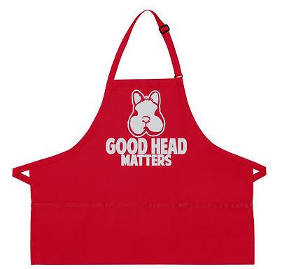 Netherland Dwarf - Good Head Matters Apron