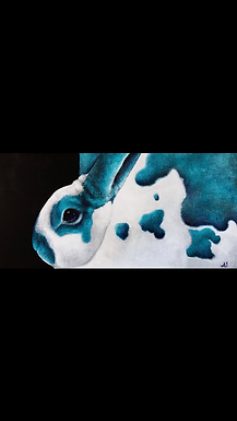 The Blues - Mini Rex Original Painting