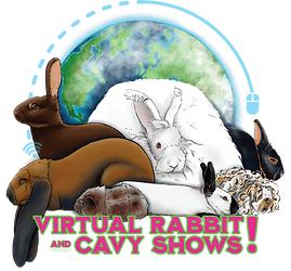 (Virtual Rabbit & Cavy Shows!) Logo 1 C