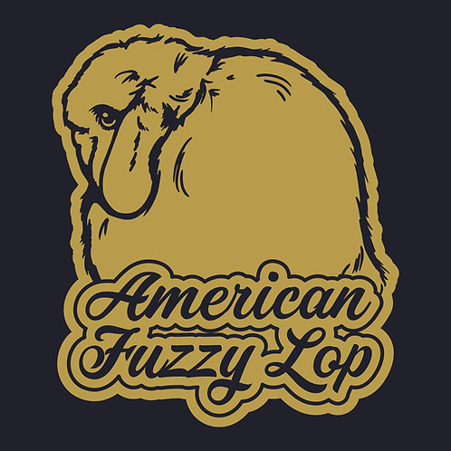 Dreamy - American Fuzzy Lop Decal