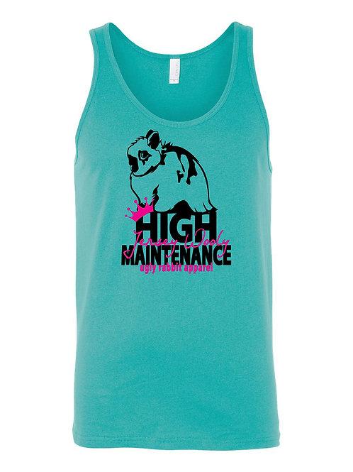 High Maintenance - Jersey Wooly Adult Tank