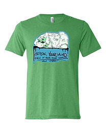 Abyssinian Cavy - Message Adult Tee