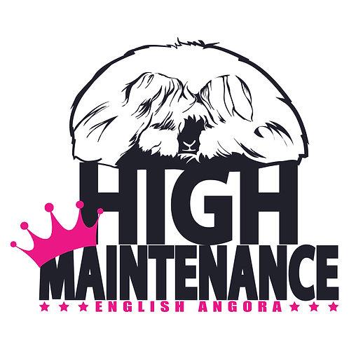 English Angora -  High Maintenance