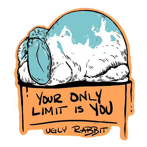 Message - French Lop Sticker
