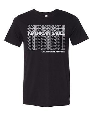 Repeat - American Sable Adult Tee