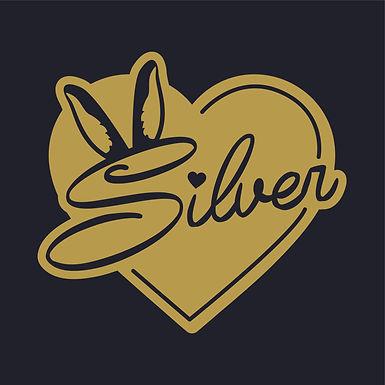 Lovestruck - Silver Decal