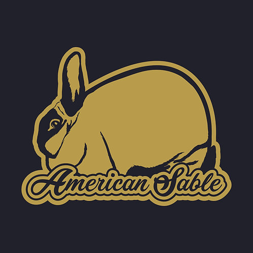 Dreamy - American Sable Decal